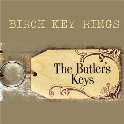 Birch Key Ring: The Butler's Keys