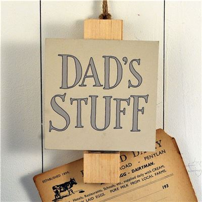 Big Peg:  Dad's Stuff