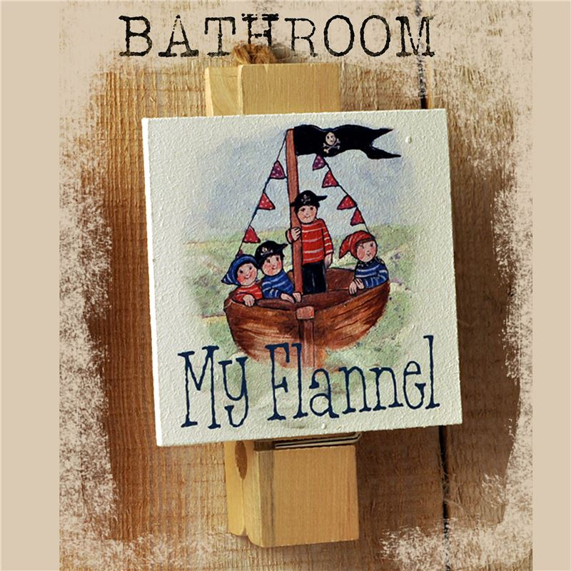Order Big Peg My Flannel: Pirate Boat