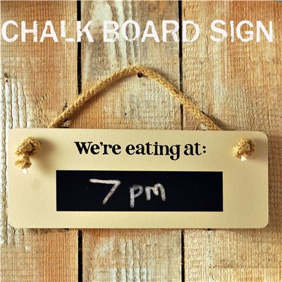 Don't forget to chalk board sign