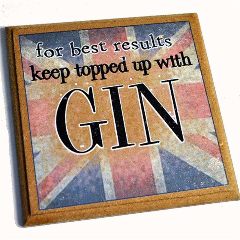Keep topped up with Gin