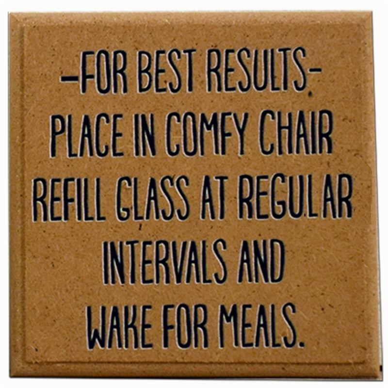 Order Wake for meals coaster.