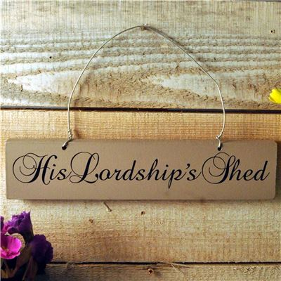 His Lordships shed