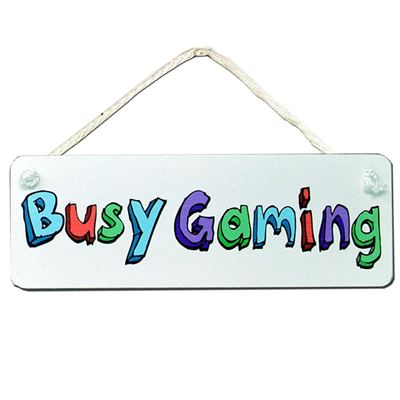 Busy Gaming