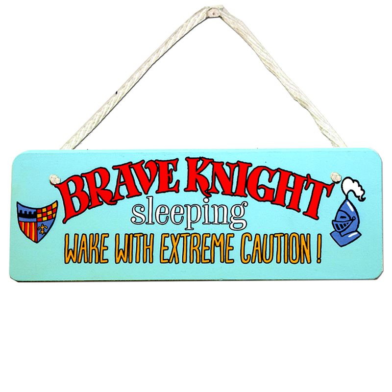 Order Brave Knight sign
