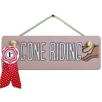 Gone Riding (pink)