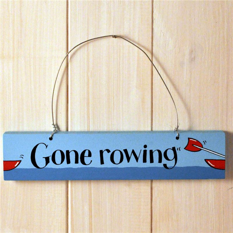 Gone Rowing