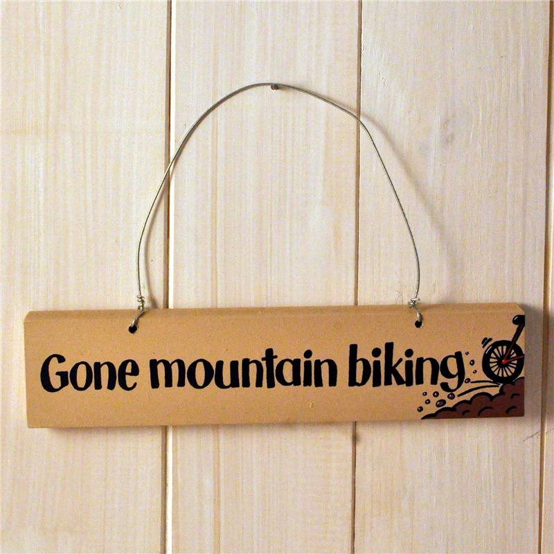 Order Gone mountain biking