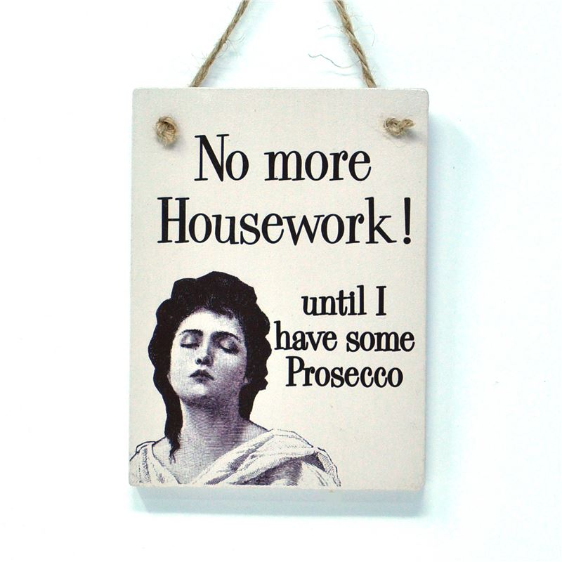 No more housework