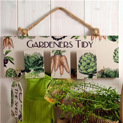 Gardeners Tidy Vegetable etchings range