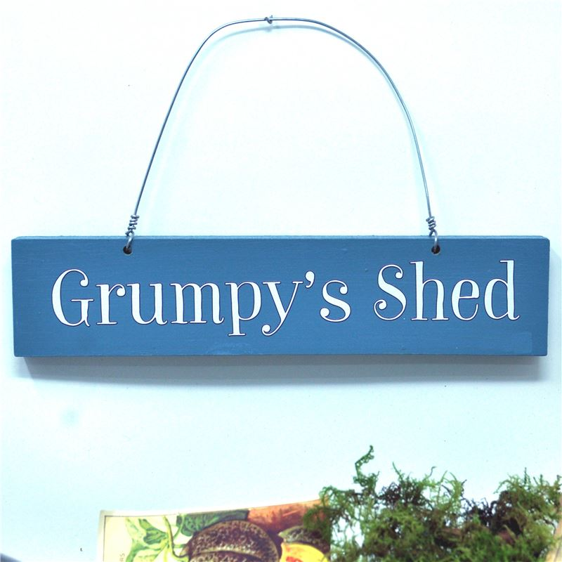 Grumpy's shed