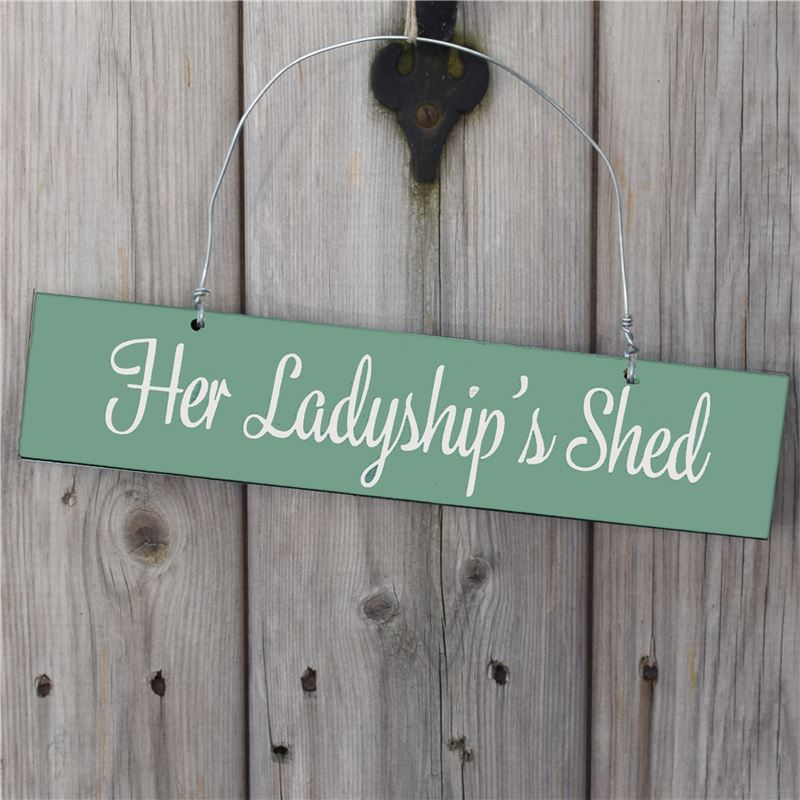 Her Ladyship's Shed