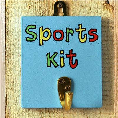 Hooks -Sports Kit Hook Primary Colours
