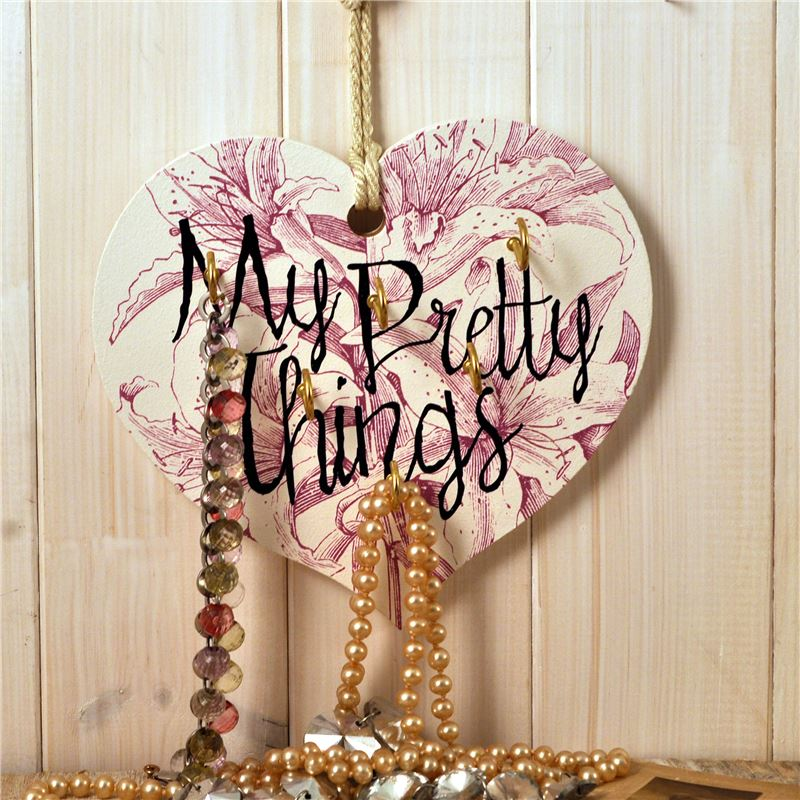 Order The Etchings Range - My Pretty Things - Jewellery Hanger (Lily)