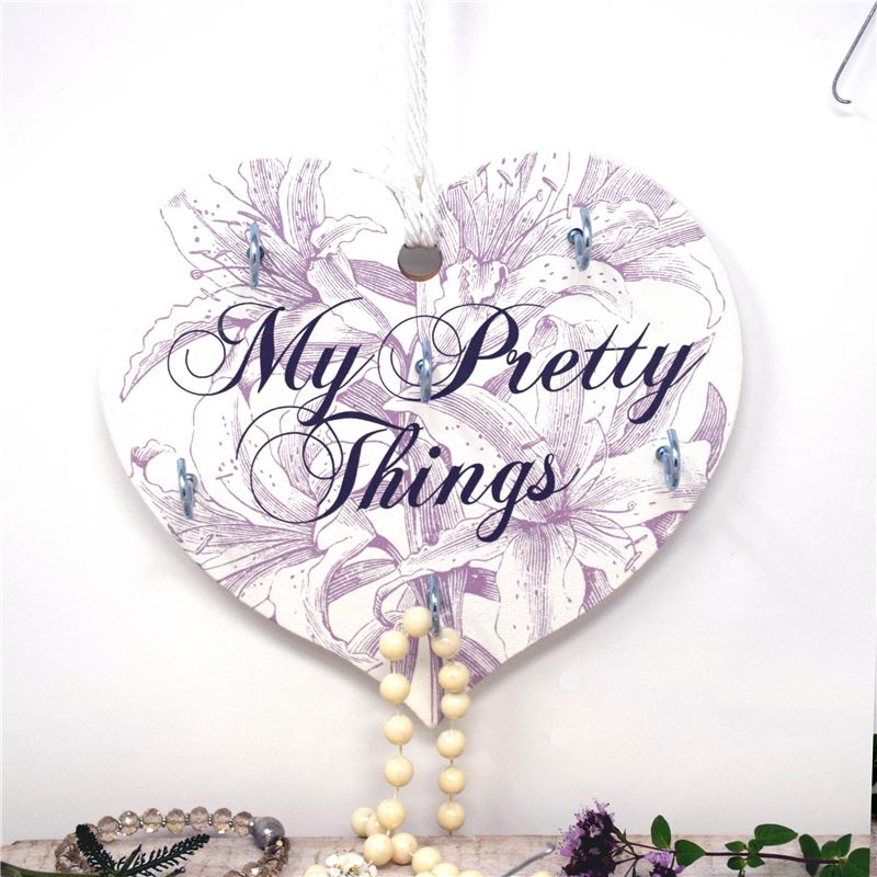 The Etchings Range - My Pretty Things - Jewellery Hanger (Lily)