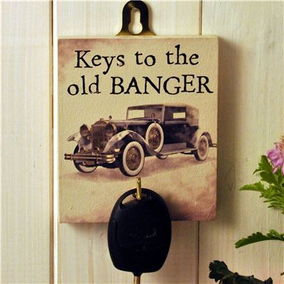 Key Hook: Keys To The Old Banger