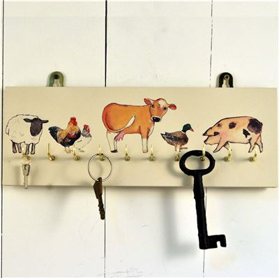 Animal Key Rack