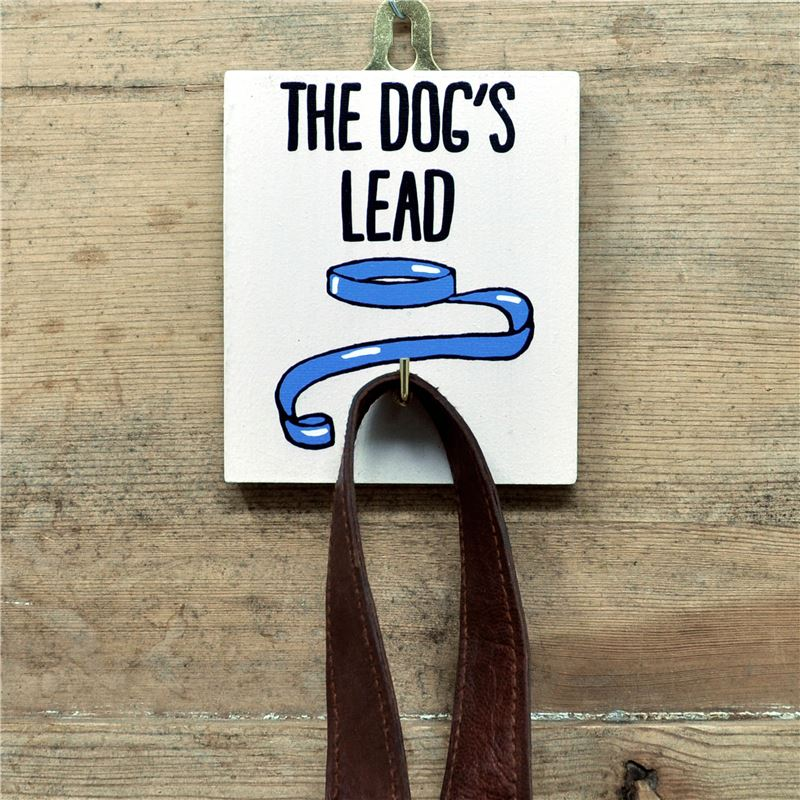 Dog's Lead Blue