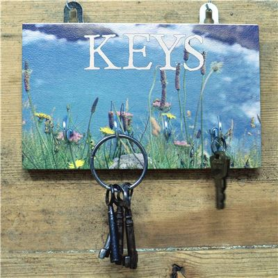 4 Hook Sea Side Key Rack