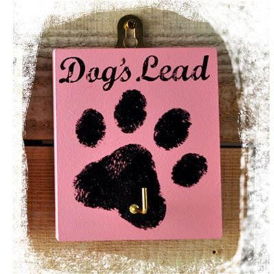 The Dog's Lead Pink Paw Print