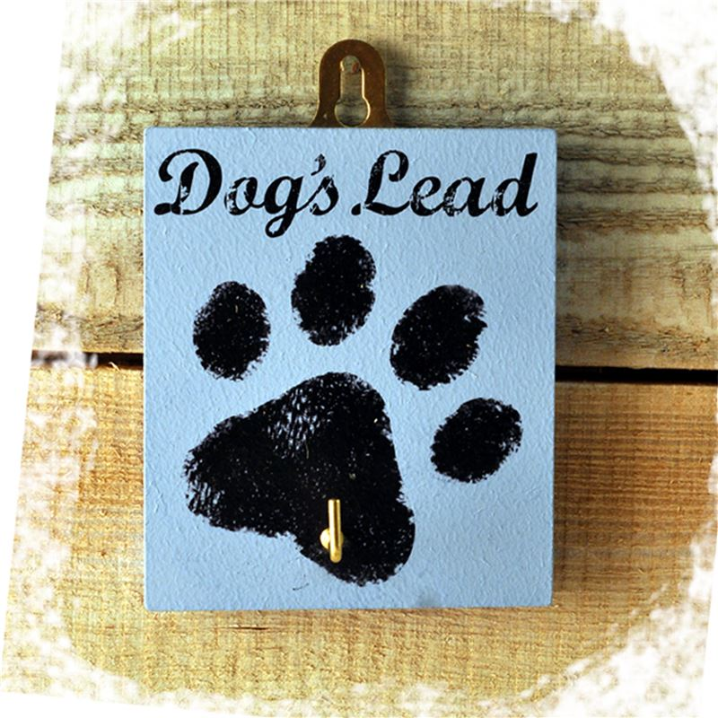 Order The Dog's Lead Blue Paw Print