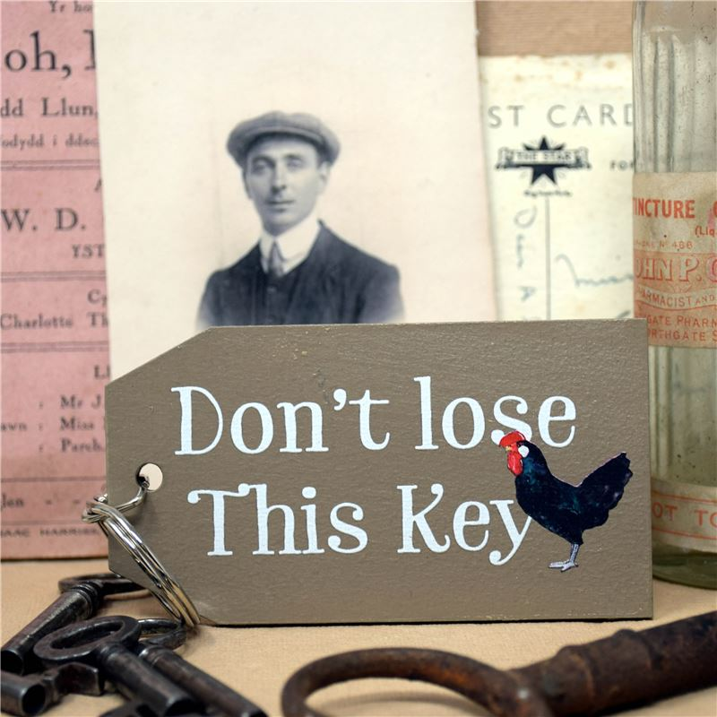 Chicken Don't Lose This Key