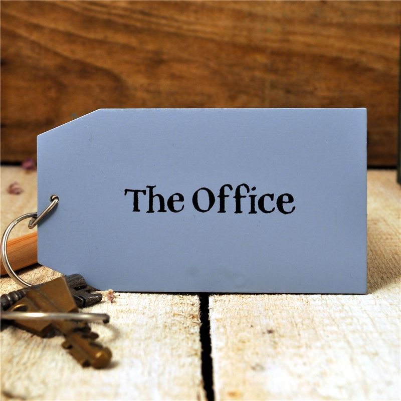 Order Wooden Key Ring:  The Office