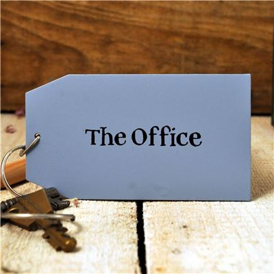 Wooden Key Ring:  The Office