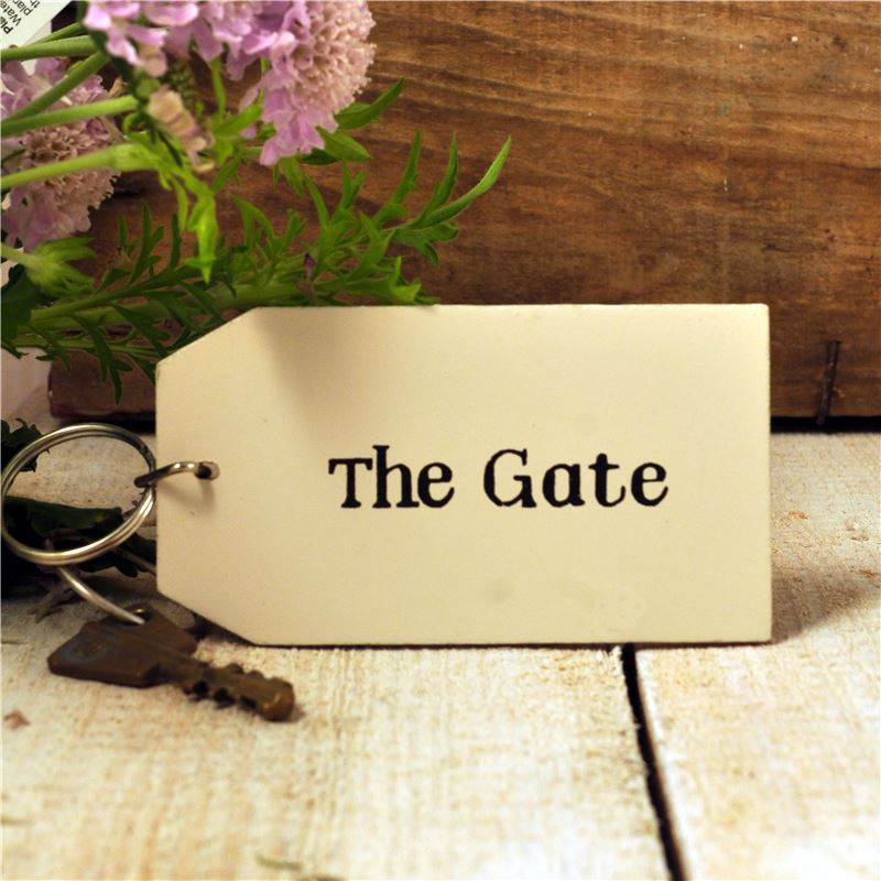 Order Wooden Key Ring:  The Gate