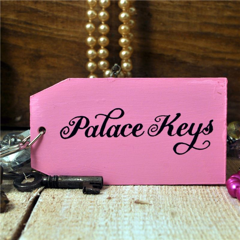 Order The Palace wooden key ring