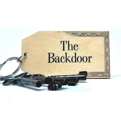 Birch Key Ring: The Backdoor