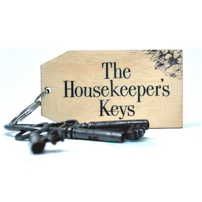Birch Key Ring: The Housekeeper's Keys