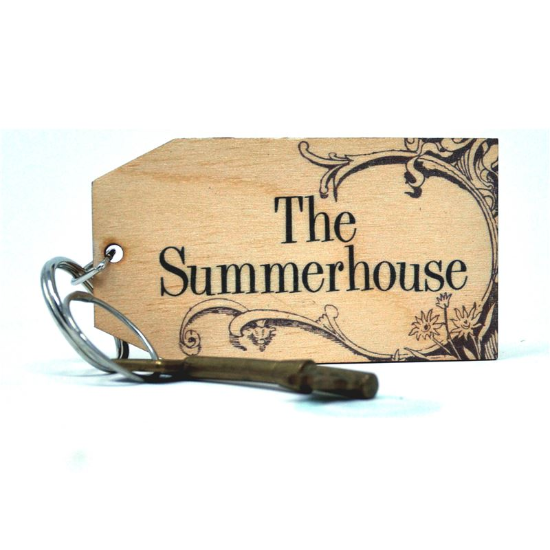Birch Key Ring: The Summerhouse