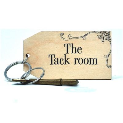 Birch Key Ring: The Tack Room