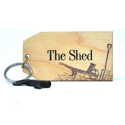 Birch Key Ring: The Shed
