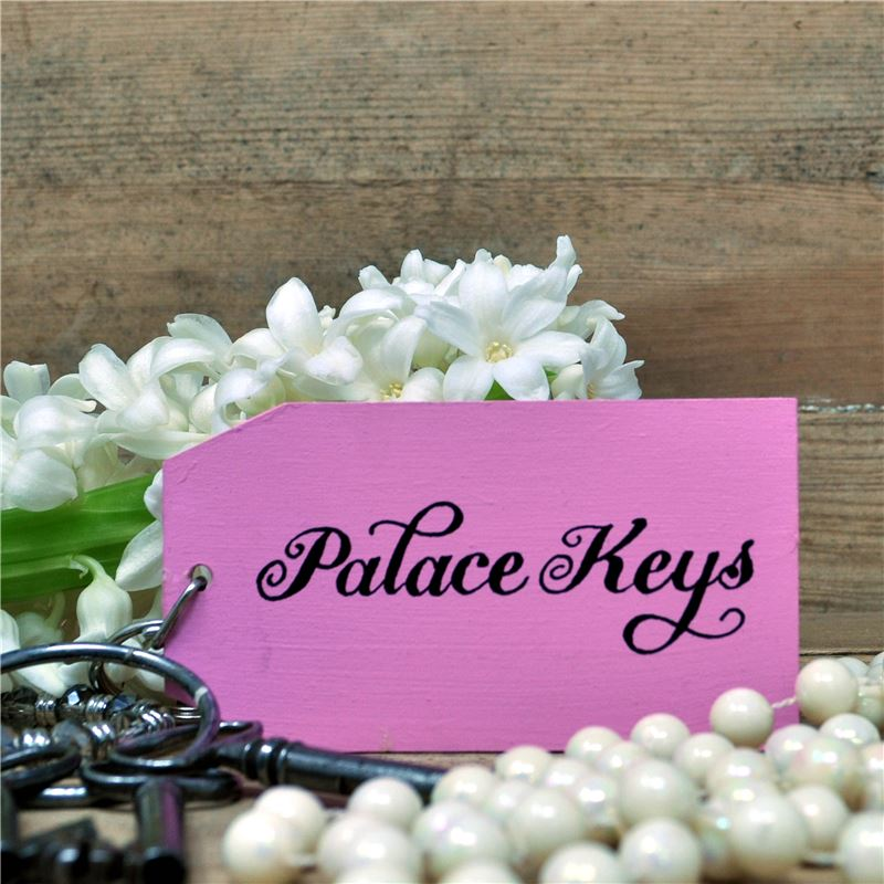 The Palace wooden key ring