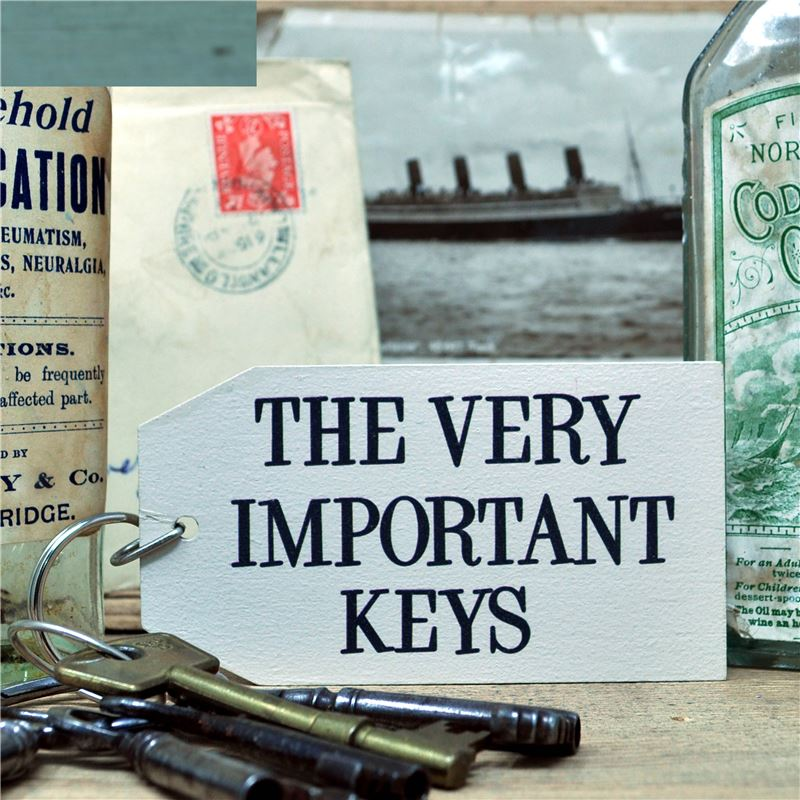 THE VERY IMPORTANT KEYS