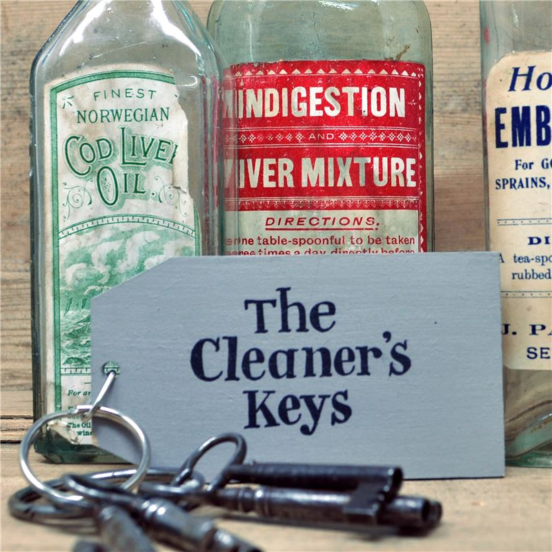 The Cleaner's Keys