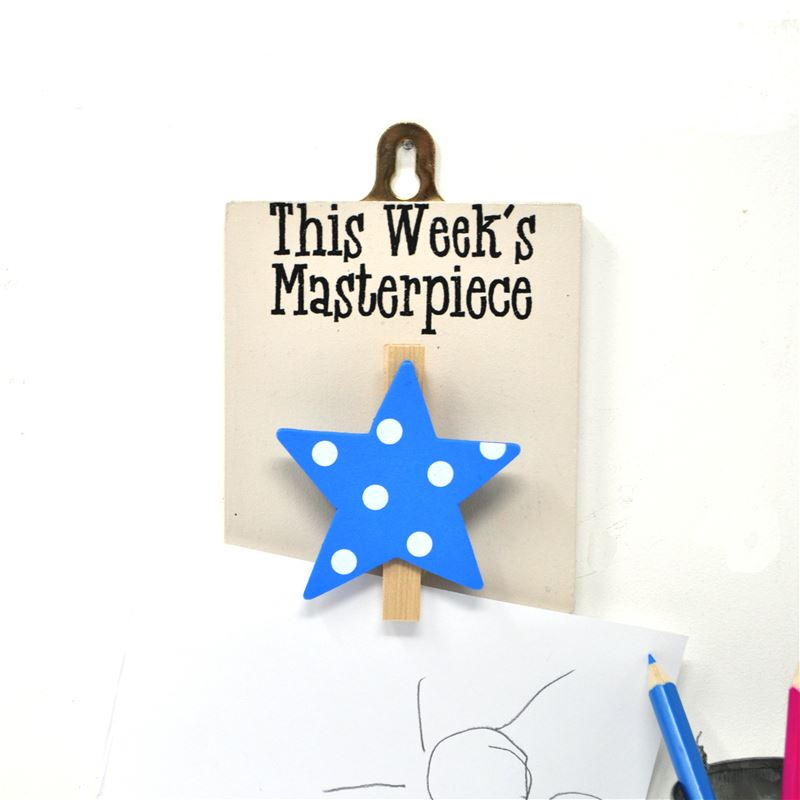 Masterpiece (Blue star, spots)