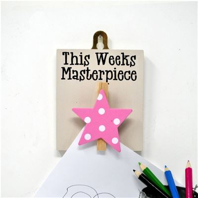Masterpiece (Pink star, spots)
