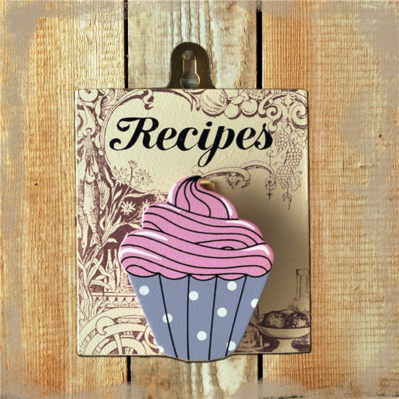Peg Up Your Papers - Recipes