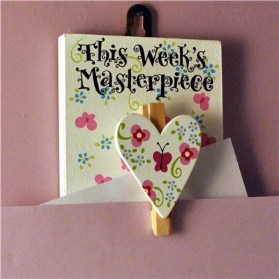 This Week's Masterpiece: Pretty Jolly Heart Peg