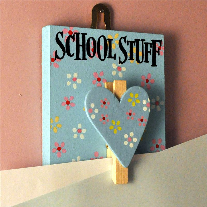 Order Hand Painted Wooden Peg: Pretty Jolly School Stuff