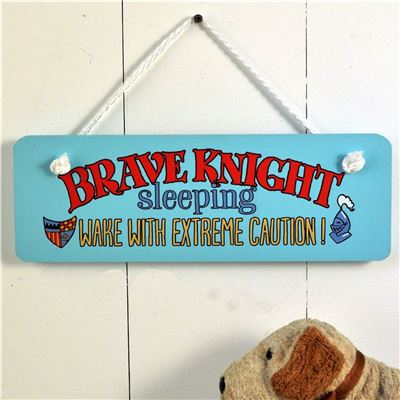 Brave Knight sign