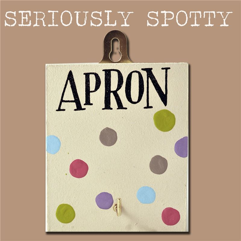 Order Seriously Spotty Hook: Apron