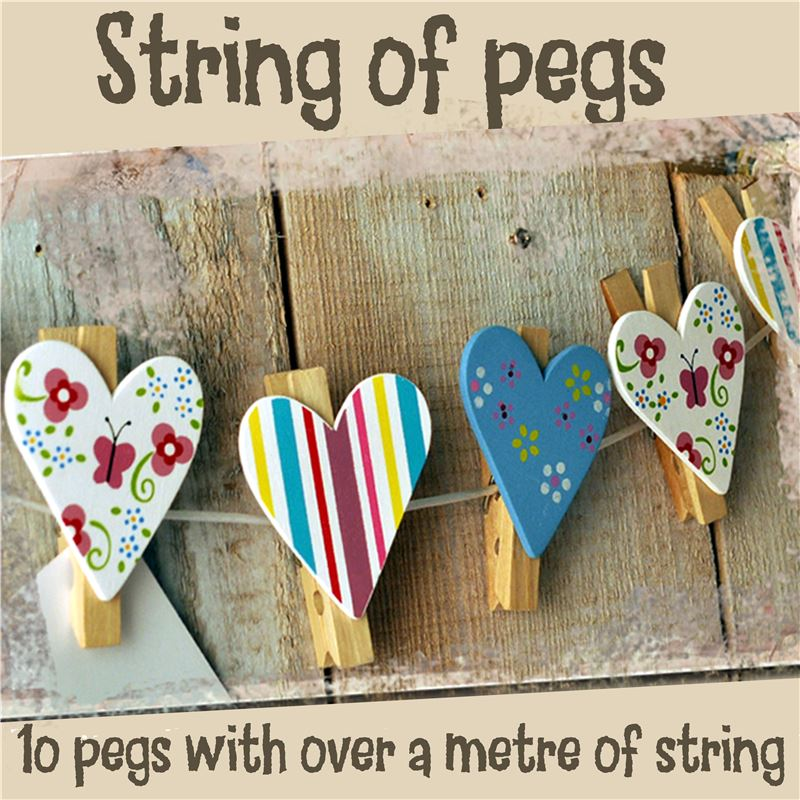 Order String of Pegs: Pretty Jolly