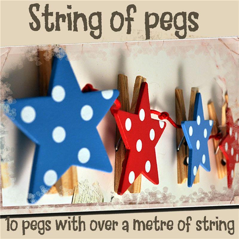 Order String of Pegs:  Vibrant Stars