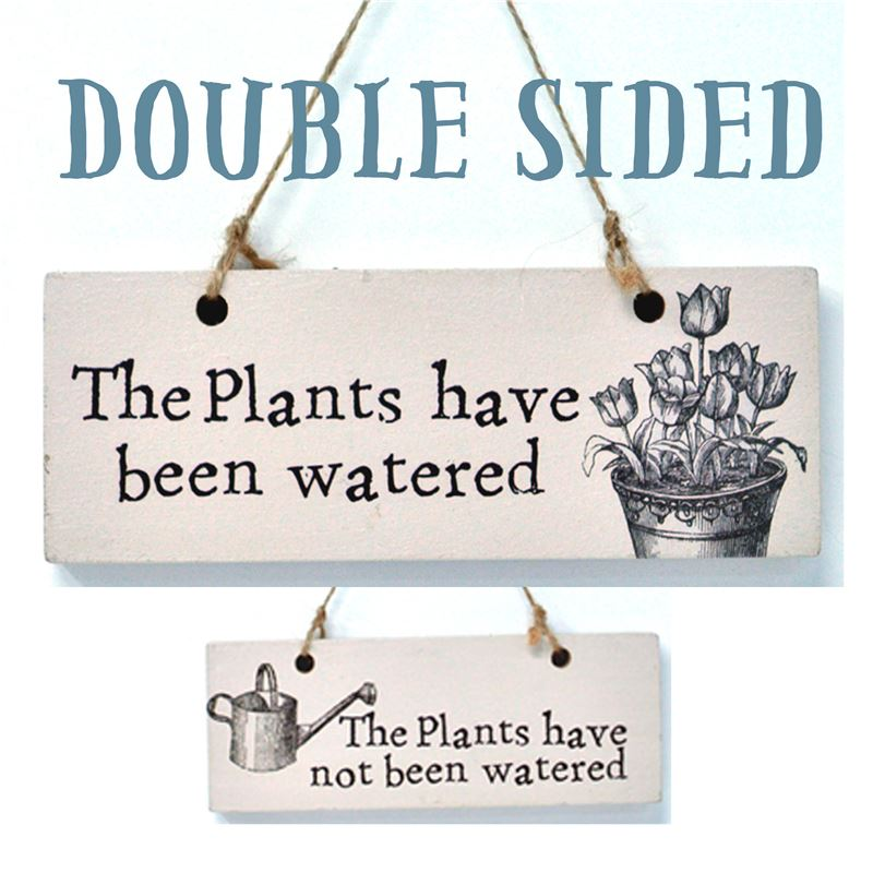 Plants Watered