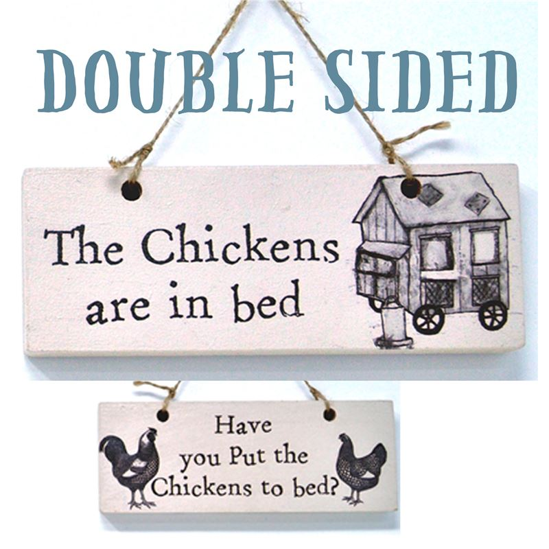 Chickens to bed