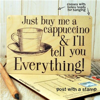 Sign Posts - Just Buy Me A Cappuccino